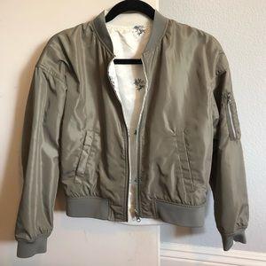 Reversible bomber jacket from Japan